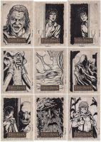 Lord of the Rings cards C by tonyperna
