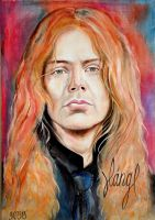 Dave Mustaine by EvelinLang