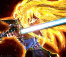 Gourry-the gold warrior by EugeneCh