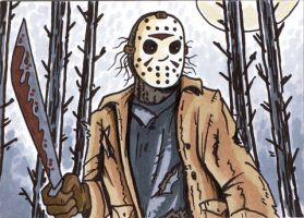 31Cards: Jason Voorhees by AtlantaJones