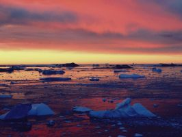 Waterscape Ice Cubes by SottoPK