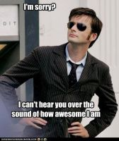 Awesome Tenth Doctor by AvariceLingreed