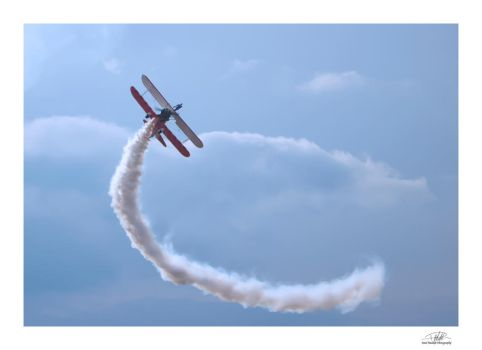 Wingwalker - Southport Air Show 2 by Paul-Madden