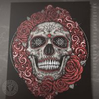 Sugar Skull by DeadInsideGraphics