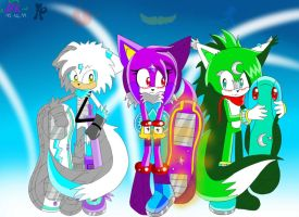 Team Magic Wolves riders style :remake: by KenotheWolf