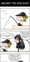 School Days Nice Boat Yonkoma by Zero-Q