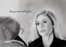 Give Your Sisters All My Love (Graphite Drawing) by julesrizz