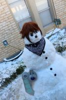 Jaden Yuki - Elemental HERO Snow Man! by Pharaohmones