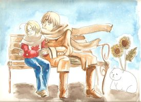 For Tyler- APH Country Winter by mallornleaf