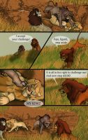 The dark lion page 8 by Mydlasfanart