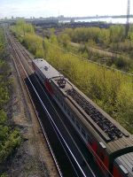 Electric train ED4M (View from the heights) by TR4Y
