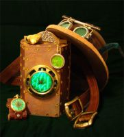 steampunk props by brucethelesser