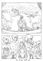 the Sovereigns, warriors, and the ancient enemy... by Riza23