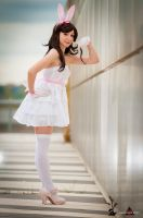 White Bunny by Saru-Cosplay