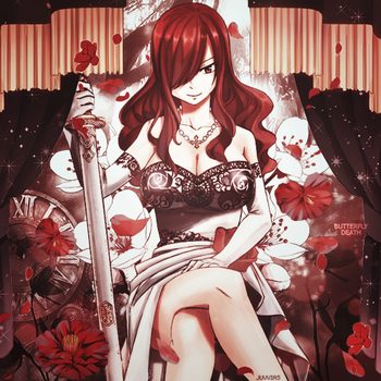 Erza Scarlet | Perfil by Butterth