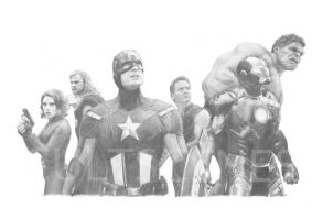 Avengers by Cultscenes