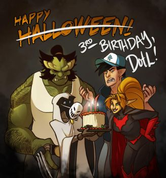 DotL: Halloween 2015 by MegSyv