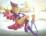 Dark Magician Girl by Syuzaki