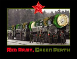 Red Army, Green Death by MercenaryGraphics