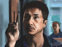 Jackie Chan - The Karate Kid by Singabee
