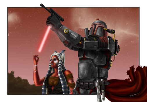 Star Wars personal project by Kit-Ket