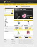 Giga Space Ecommerce Site by Ibrahim-Nisar
