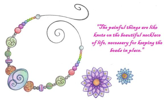 Necklace of Life by Spiralpathdesigns