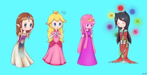Princesses by madkoog