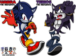 SONIC: Umbra and Terios by WaniRamirez