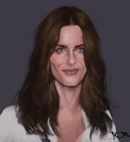 Amanda Peet sketch 2 by tonyob