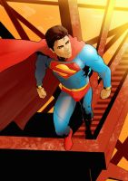 Commission: Man of Steel by redgvicente