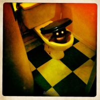 THE BAD WATER CLOSET by LEQUARK