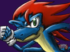 Ikky the iguana the dash runner by Terrix250