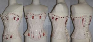Bloody Flossing corset by AtelierSylpheCorsets