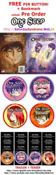 One Step Pre Order Pamflet by Shirei-Shou