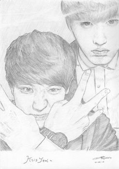 KrisYeol by hafsahalra