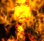 spartans are burning lol Without text by sagatxplus