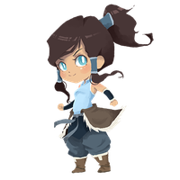 Korra by Manly-Rainbow