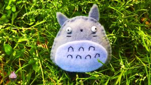 Cute Totoro Pin by Dollface-RYJ