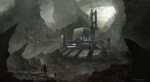 Outpost facility by bzartt