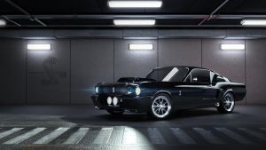 Revisit - Mustang Shelby GT 500 3dsmax (vray) by nazmoza