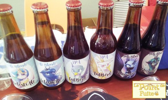 First batch of Pony beers ! by Fanch1