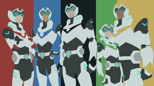 Team Voltron Minimalist by DamionMauville