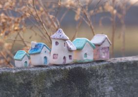 little houses by ladymeow