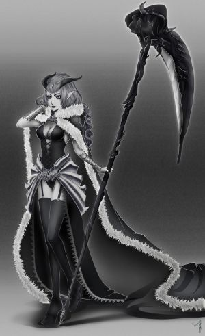 Anima Gate of Memories entry: Evil Queen by sakuyasworld