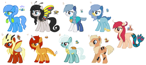 Pokepony Adopts 2 by Rainbow-ninja-adopts