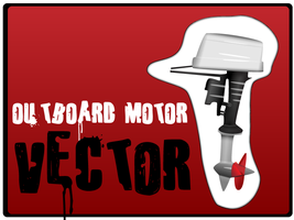 Outboard motor vector by anarchynow