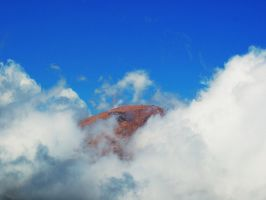 Peaking Through the Clouds by greenunderground