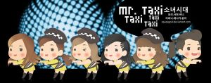 SNSD mr taxi by squeegool