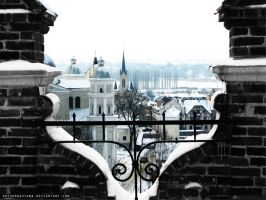 Old town in Lutsk by ArthurGautama